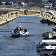 Aveiro - most nad kanałem
