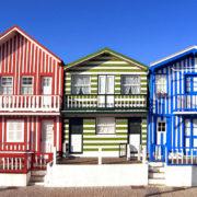 Costa Nova do Prado - tradycyjne domki
