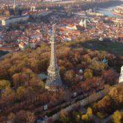 Praga - wzgórze Petrin