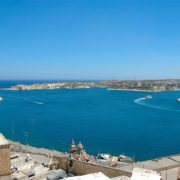 Widok na Grand Harbour - Malta