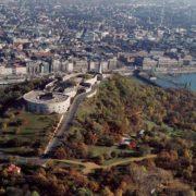 Budapeszt - Wzgórze Gellerta - cytadela na wzgórzu
