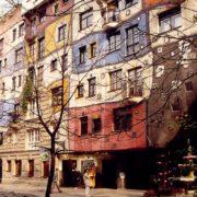 Dom Hundertwassera - Wiedeń