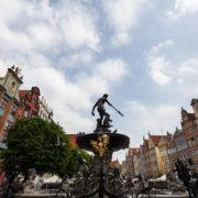 Gdańsk - fontanna Neptuna