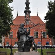 Gdańsk - pomnik Heweliusza