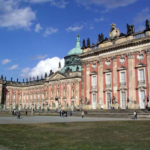 Poczdam - Nowy Pałac (Sanssouci)