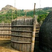 Swaziland - tradycyjne domy
