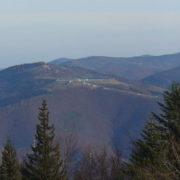 Widok na górę Żar