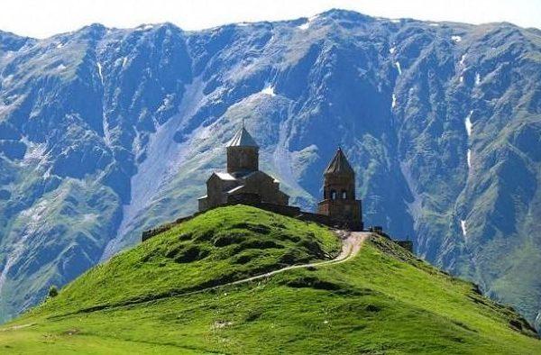 Gruzja - klasztor Cminda Sameba