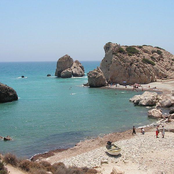 Cypr - Skała Afrodyty
