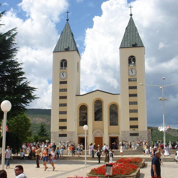 Medjugorie - Kościoł Św. Jakuba