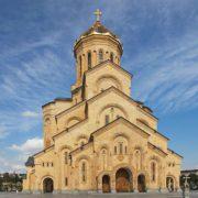 Tbilisi - Sobór Trójcy Świętej