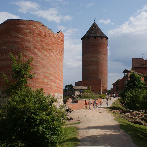 Turaida - Zamek Biskupów Ryskich